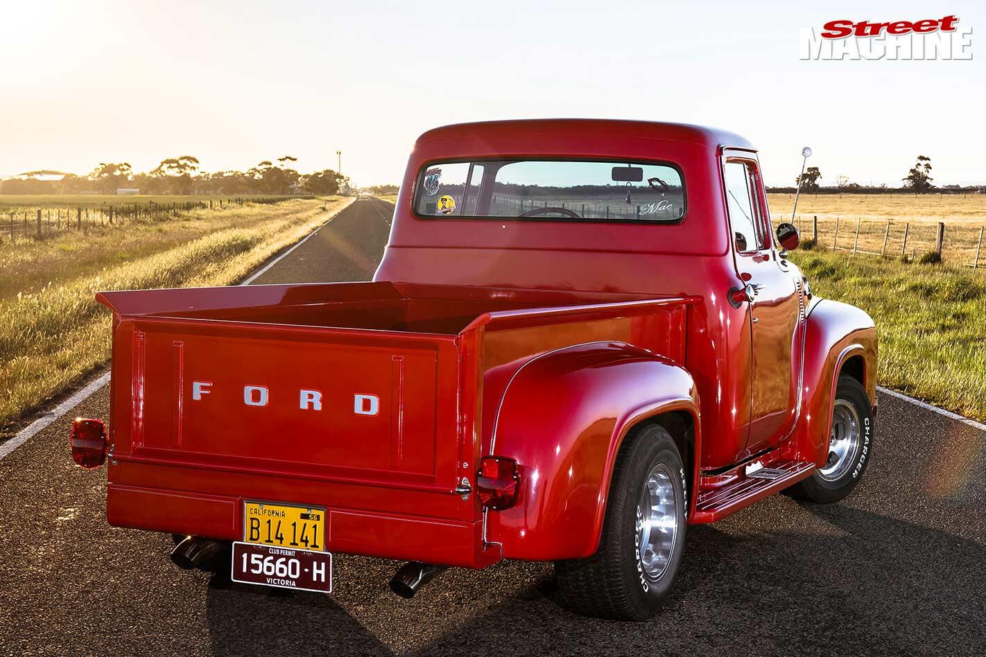 Ford F100 rear