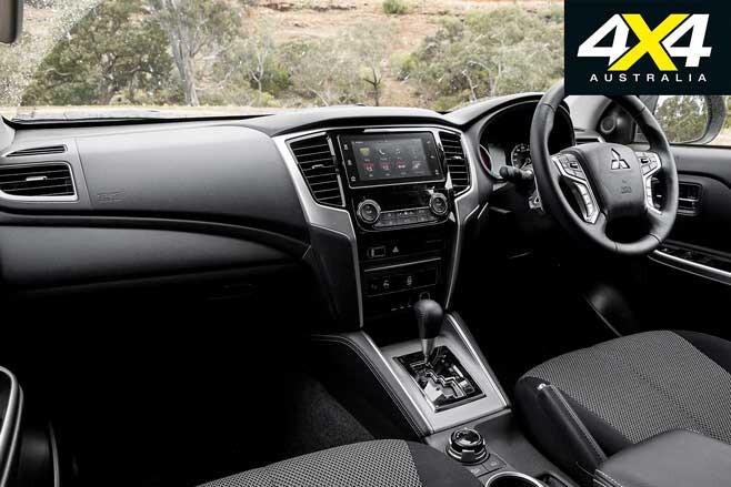 2020 4 X 4 Of The Year Mitsubishi Triton GLS Interior Jpg