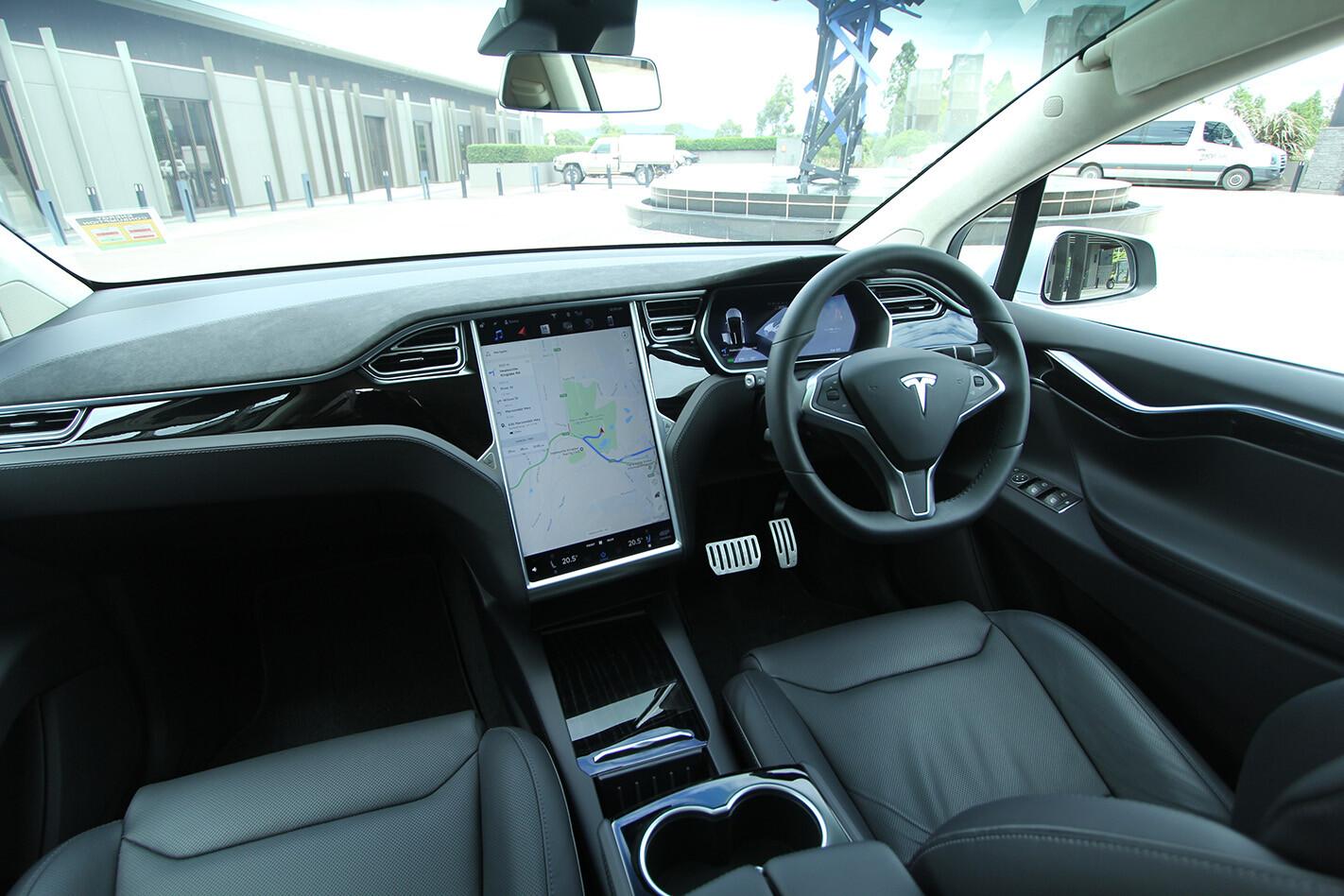 2017 Tesla Modelx P 100 D Interior Dashboard Jpg