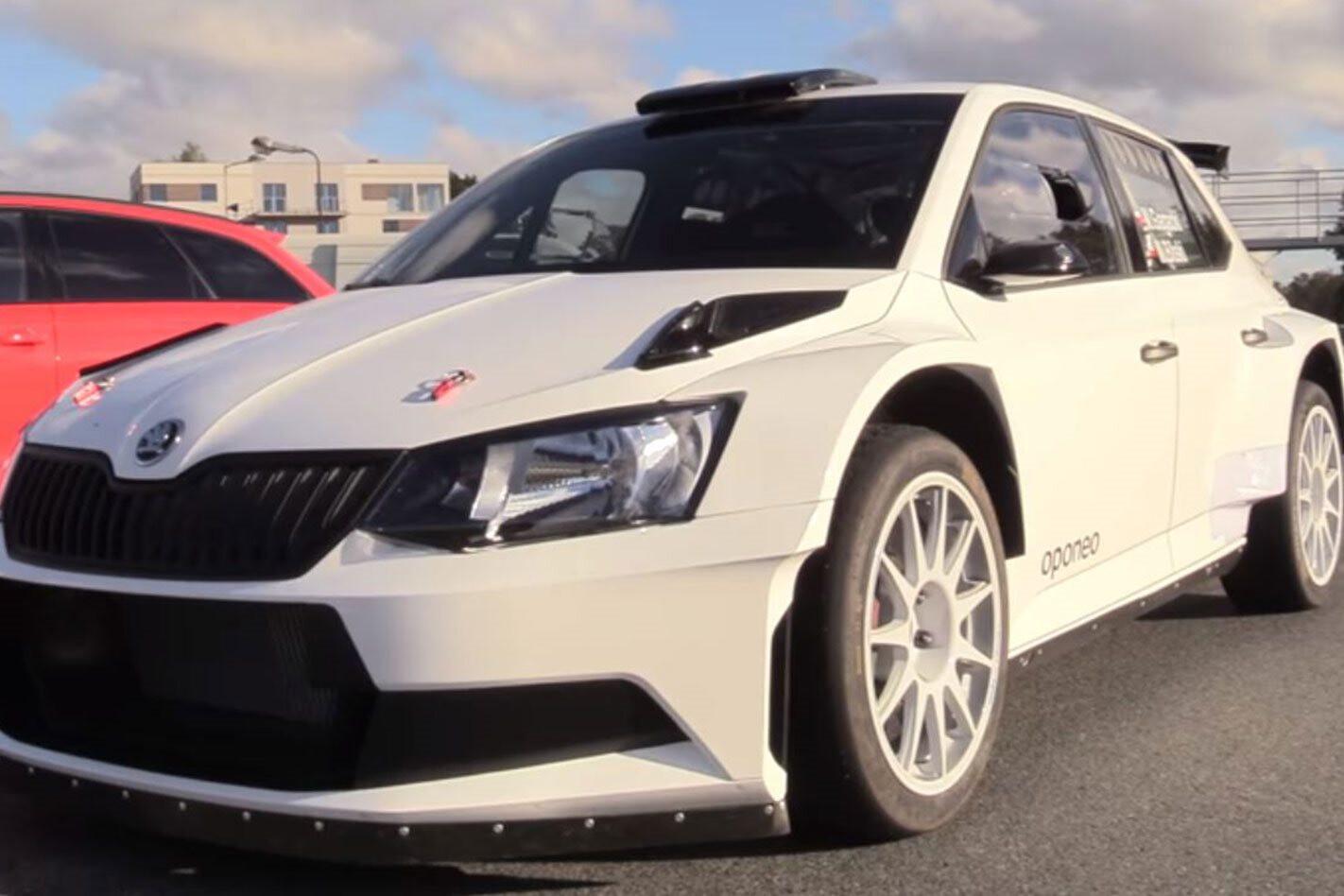 Audi RS6 vs Skoda Fabia R5