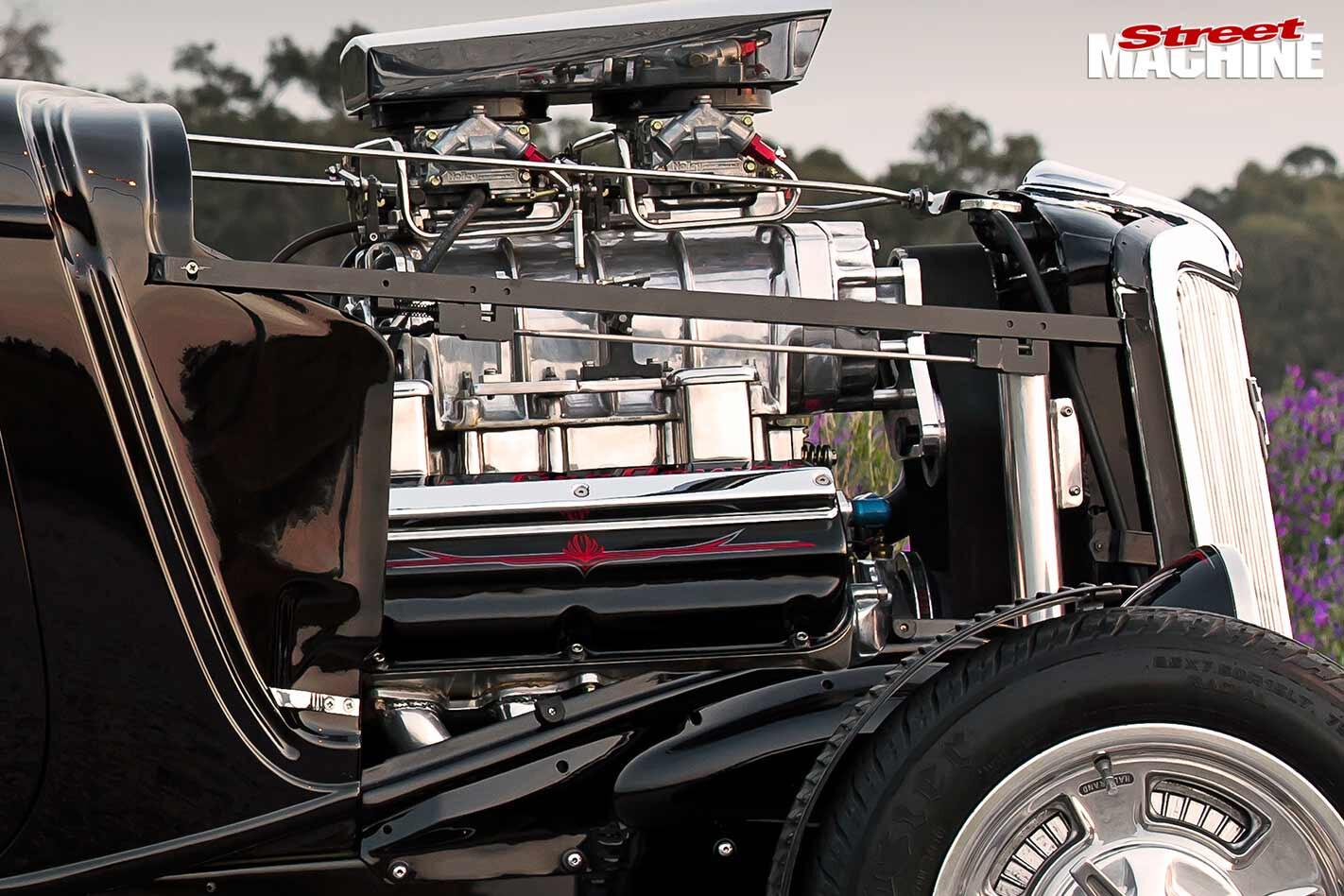 Ford five-window engine