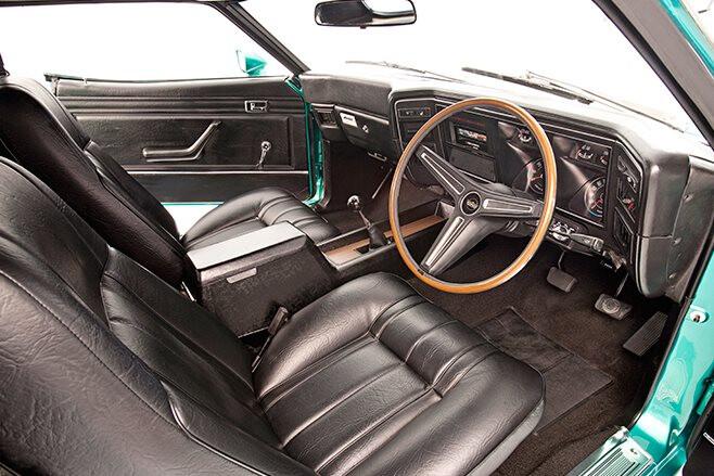 Ford Falcon XB GT interior