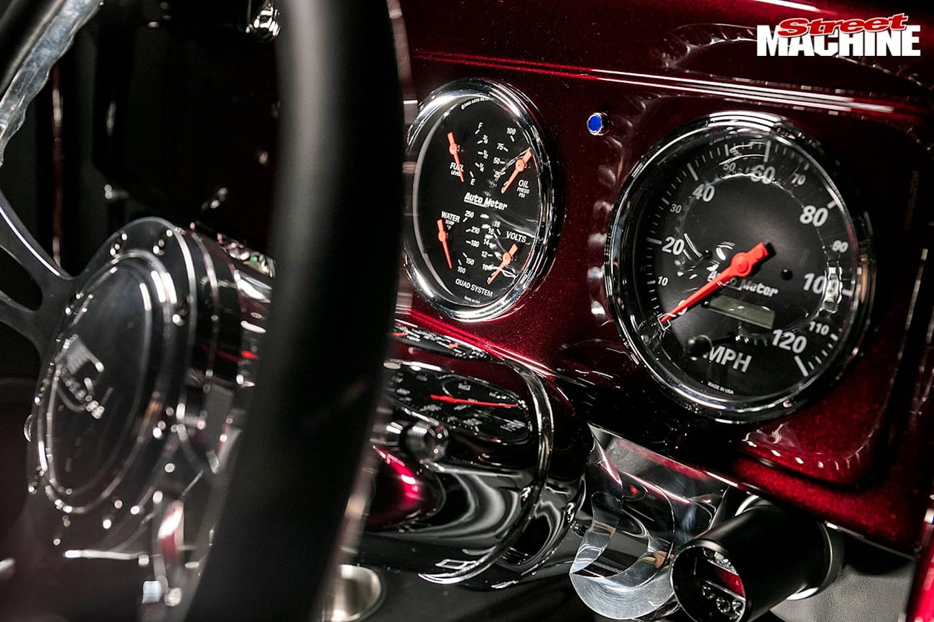 Plymouth coupe gauges
