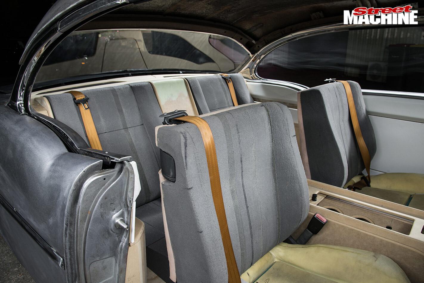 Chev Bel Air seats