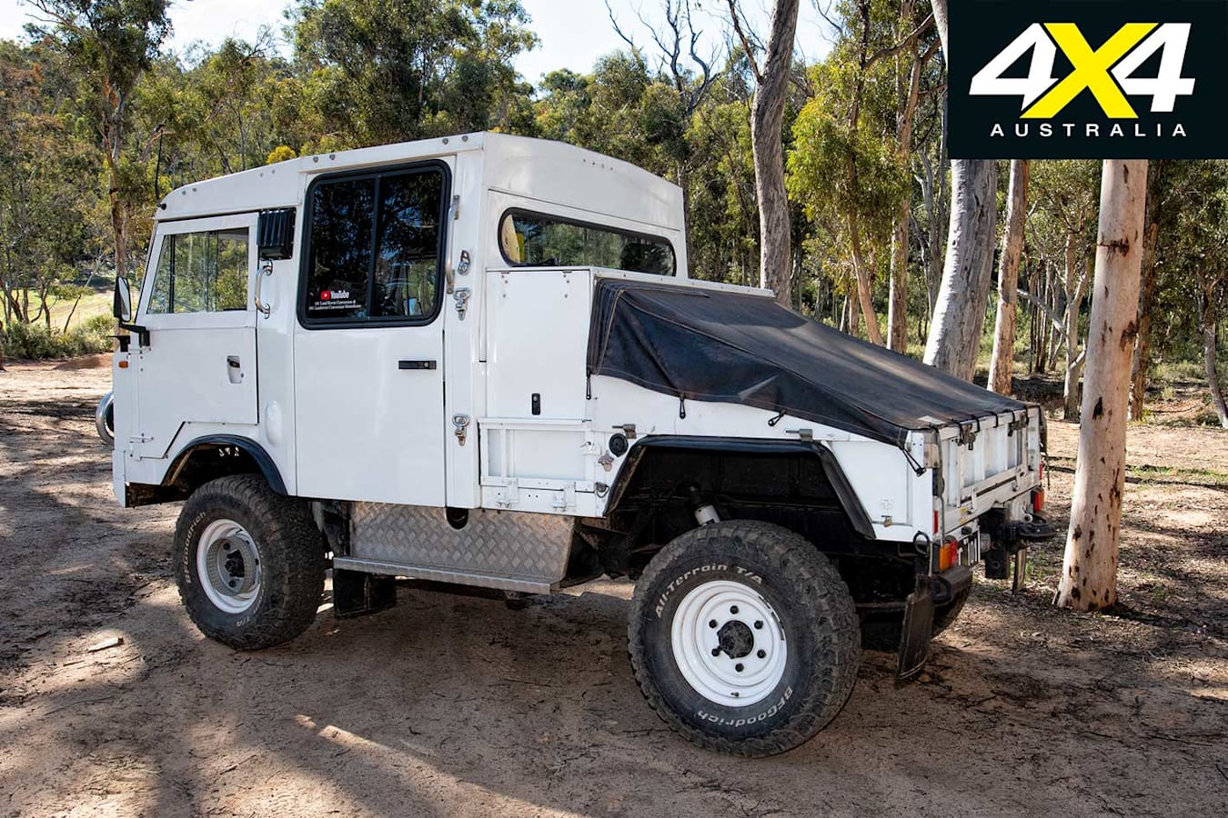 Custom Land Rover FC 101 Cab Over Chassis Jpg