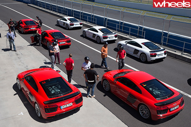Audi -R8-top -at -Mount -Panarama