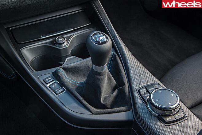 BMW-M2-gear -stick