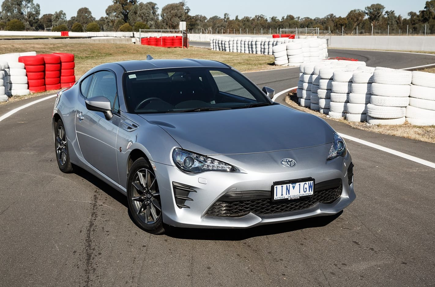 2017 Toyota 86 front
