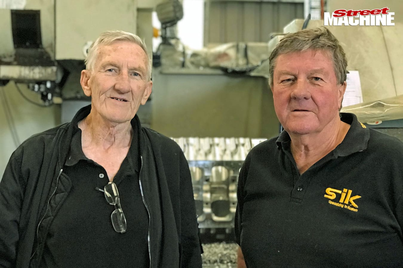 Stan and Norm Sainty