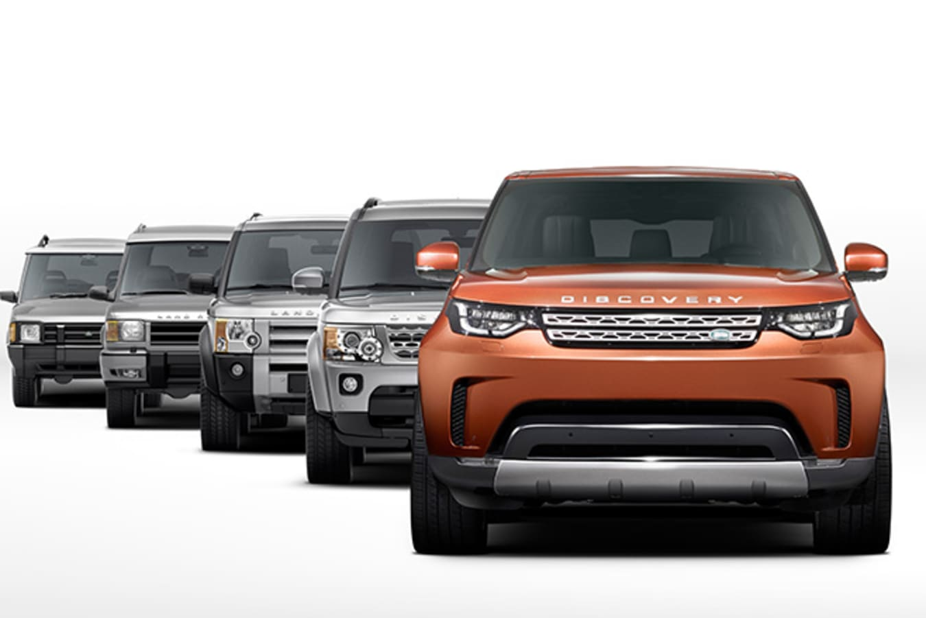 Land Rover Discovery historical models