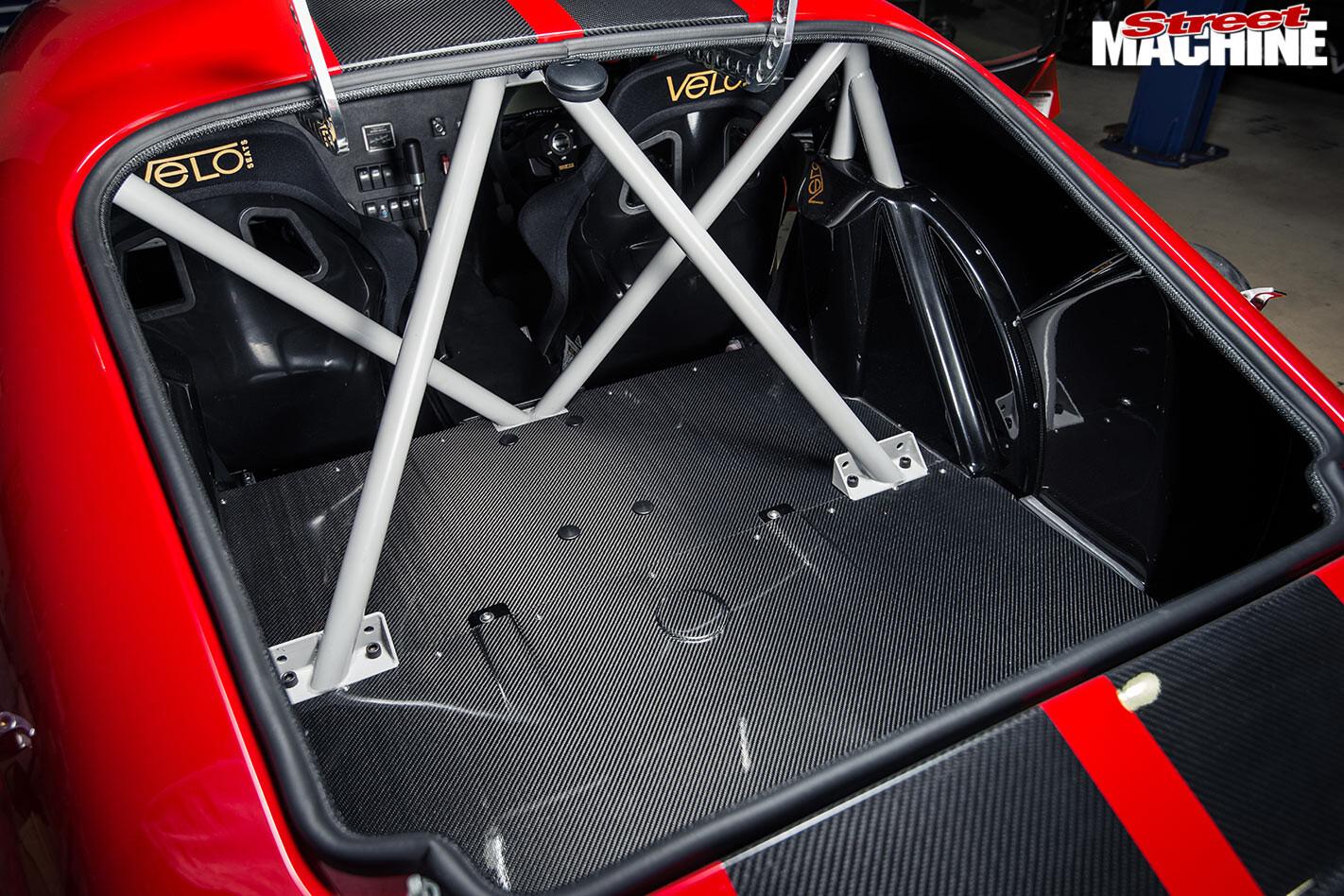 Daytona replica sports car rollcage
