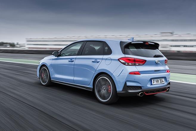 2018 Hyundai i30 N driving