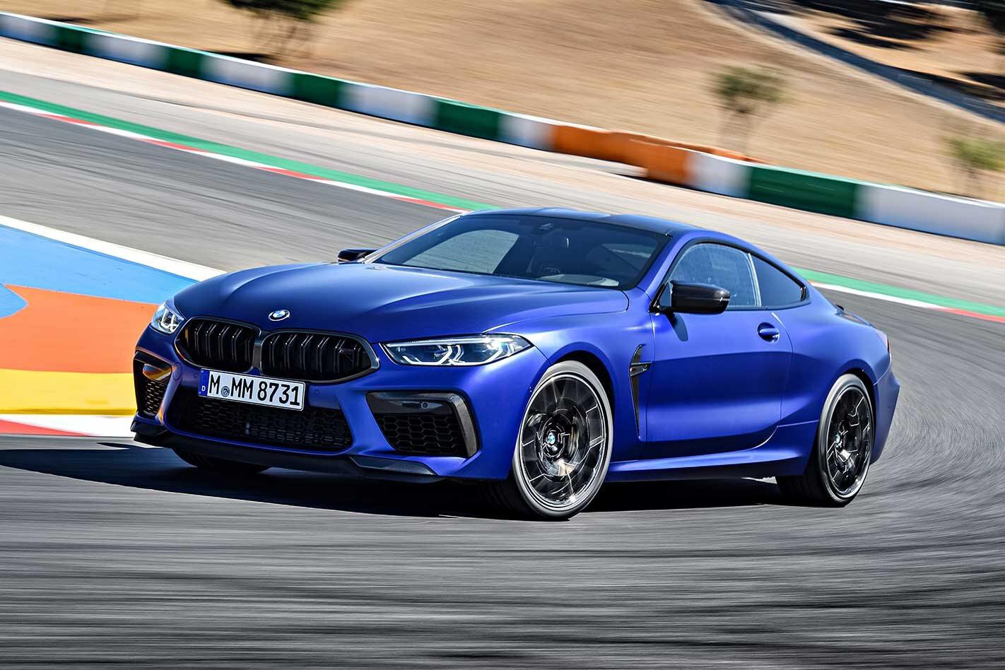BMW M8 Competition Australia pricing
