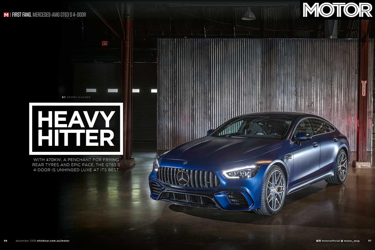 MOTOR Magazine December 2018 Preview GT 63 Jpg