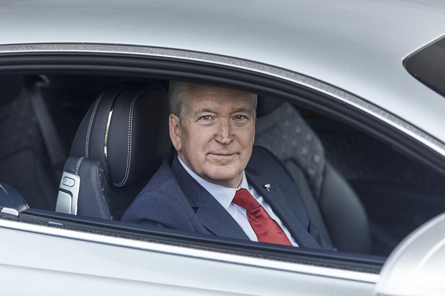 Bentley Chairman and CEO Adrian Hallmark