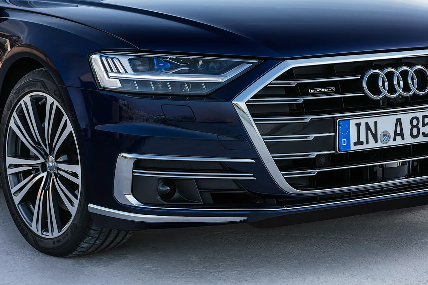 Audi A 8 Grille Jpg