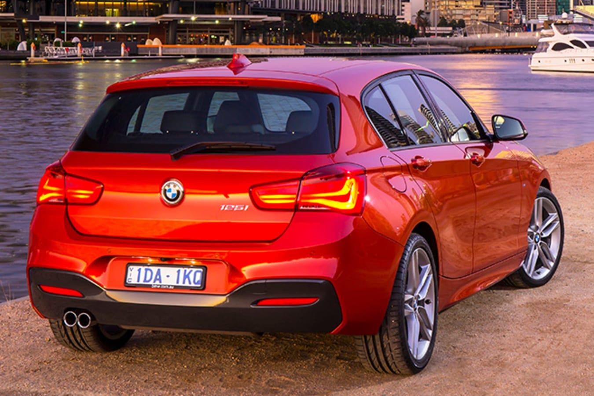 BMW 125i Rear