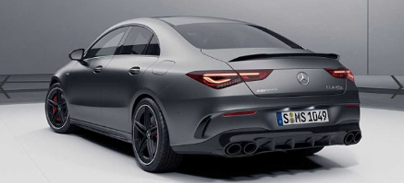 Mercedes-AMG CLA45 leaked online by Mercedes