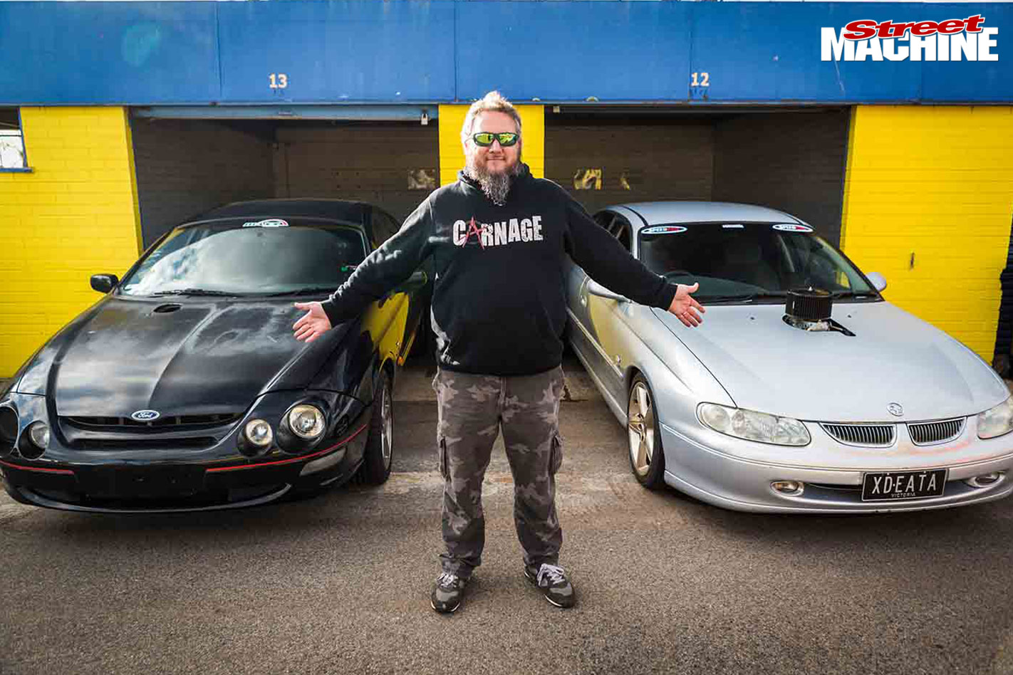 Carnage $2k challenge cars