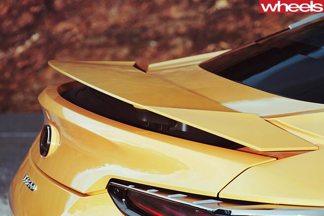 2016-Lexus -LC500-rear -spoiler -static