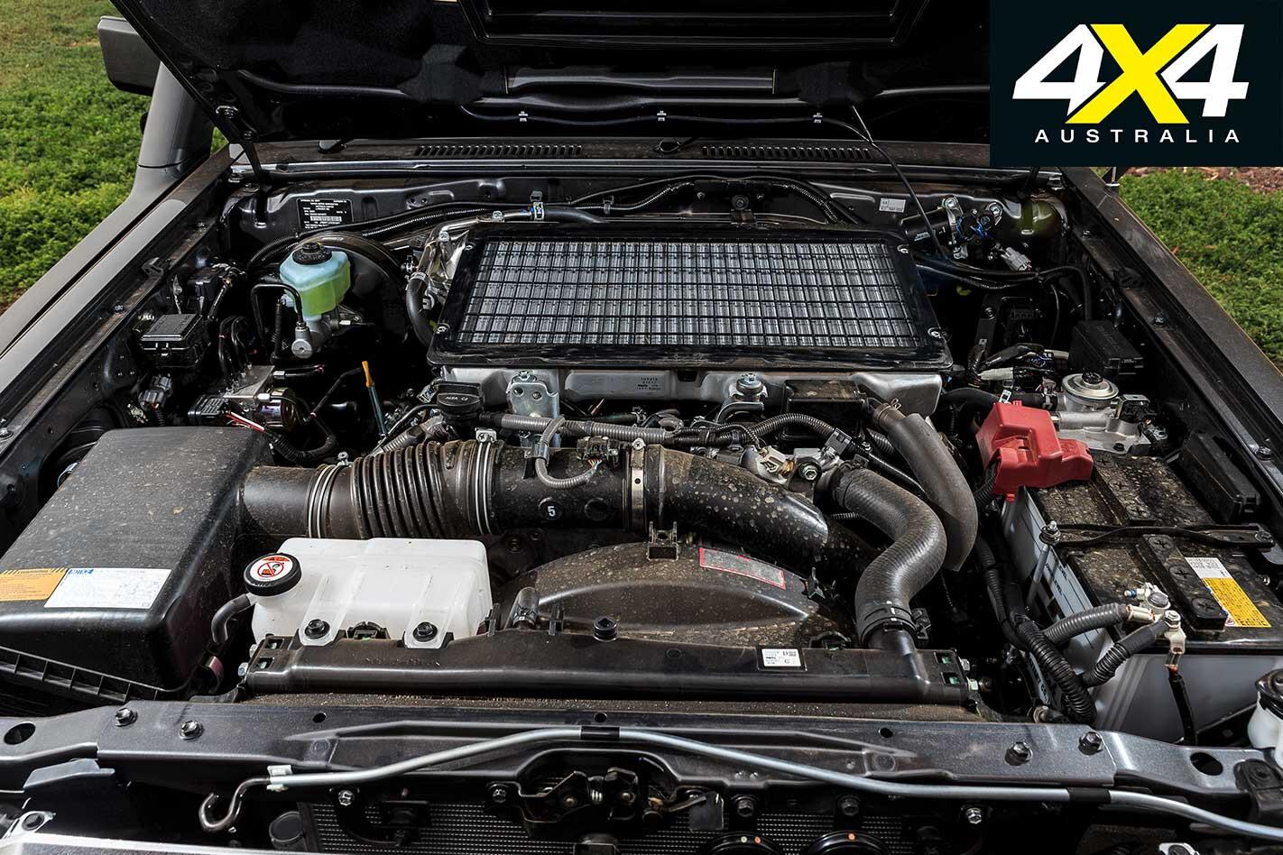 Toyota Land Cruiser 79 Series Engine Jpg