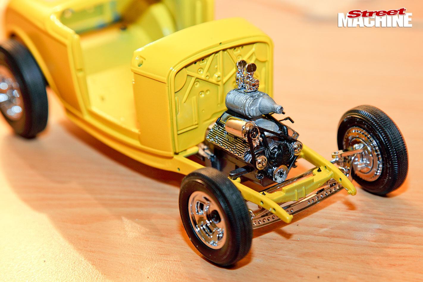 car model building