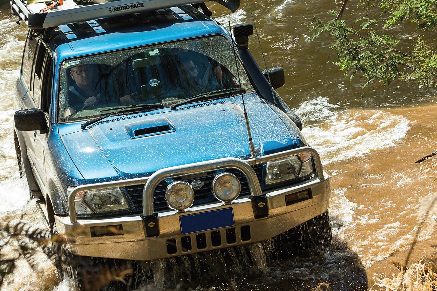Nissan Patrol GU fitted Bridgestone Dueler MT 694 tyres