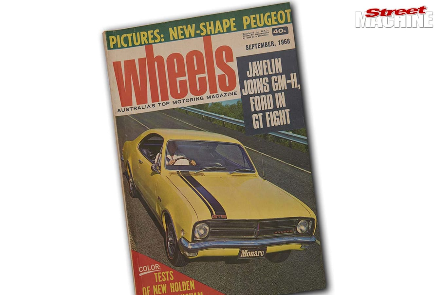 Holden Monaro Wheels Car of The Year