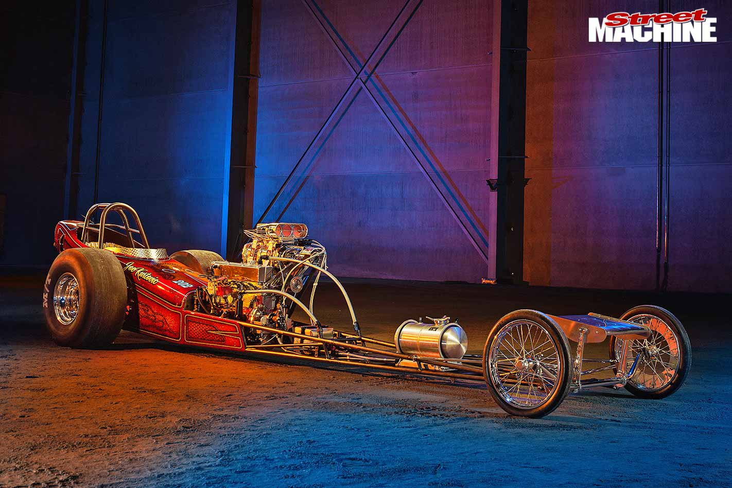 front engined dragster