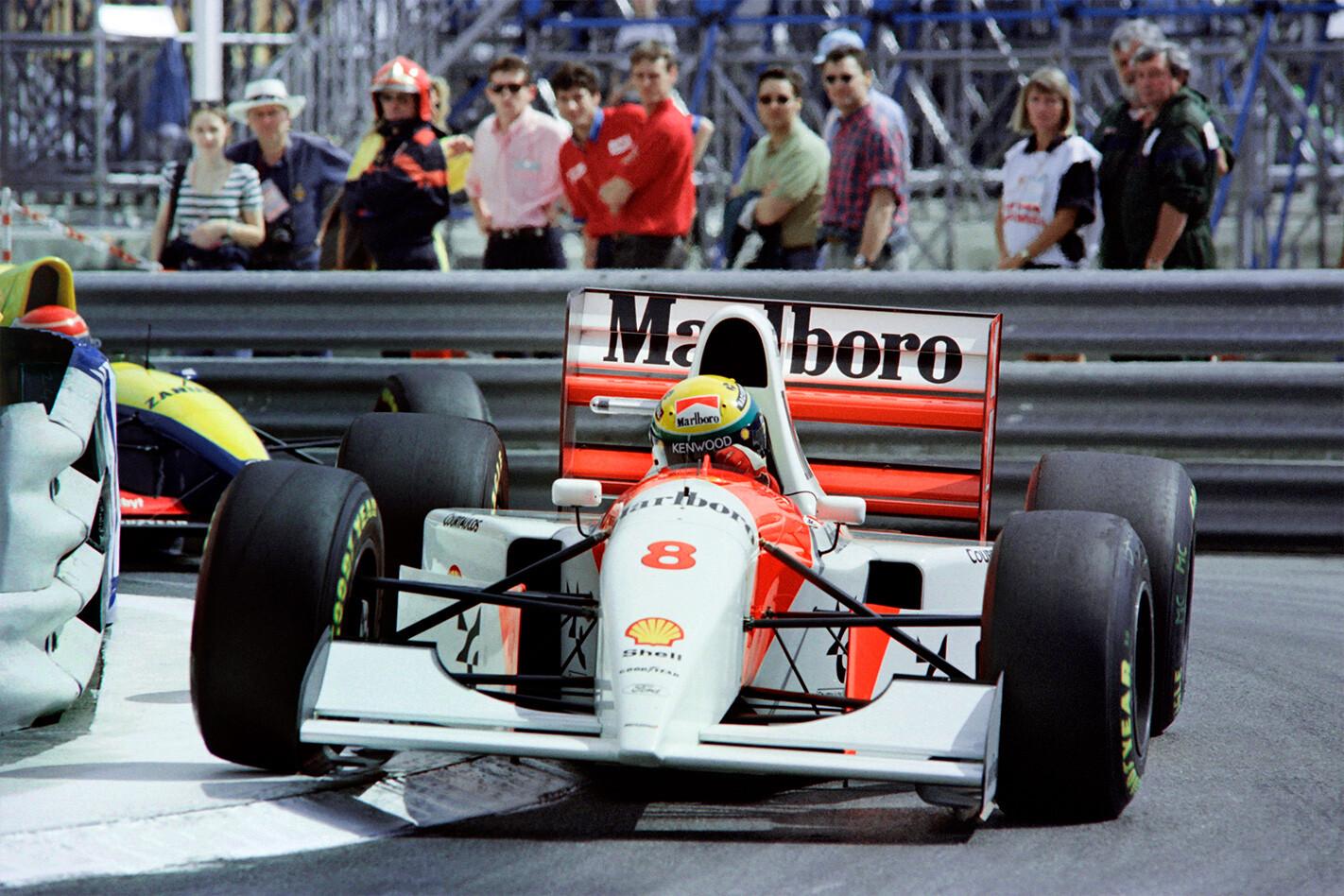 Senna Mclaren Corner Jpg