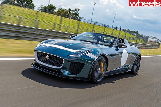 Jaguar -F-Type -Project -7-green -driving