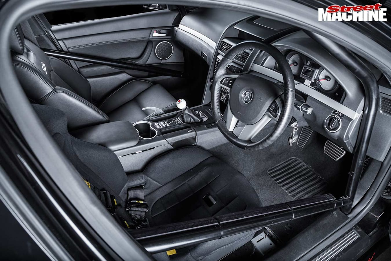 Holden Commodore VE interior front