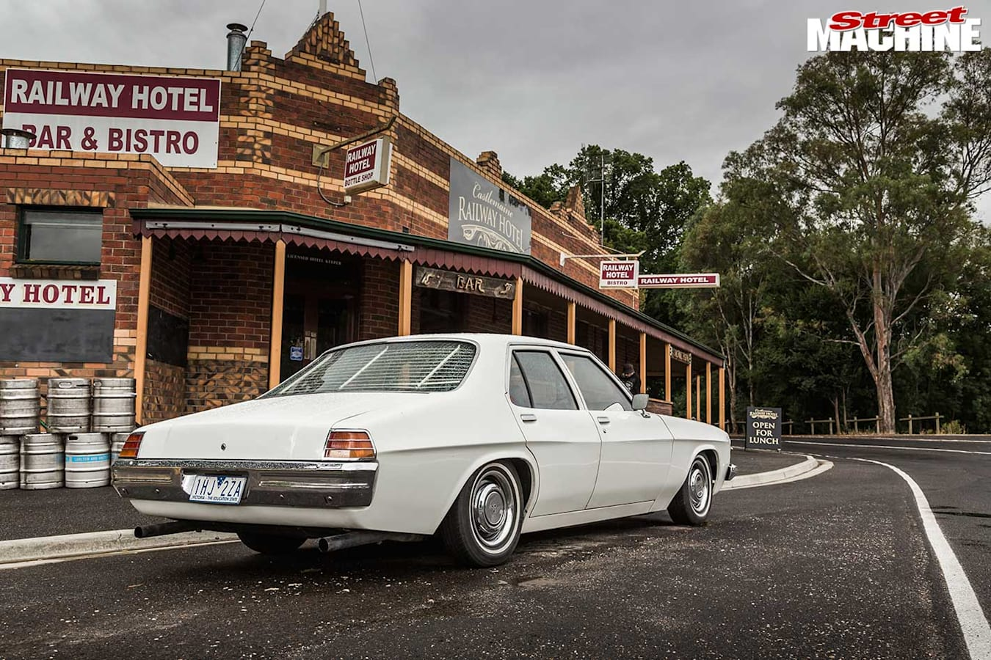 Holden HJ Kingswood rear