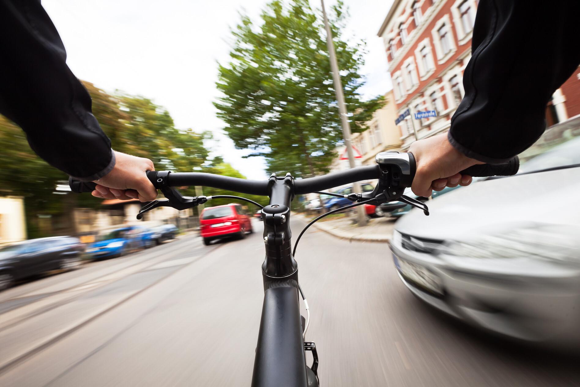 bike crash city