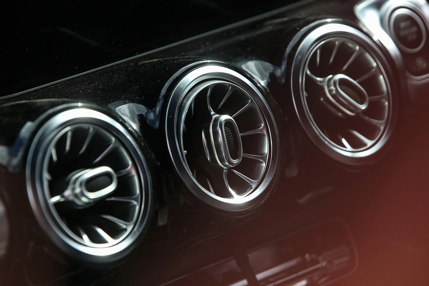 2021 Mercedes Benz GLB Air Conditioning Vents Jpg