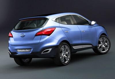 2009 Geneva Show - Hyundai ix-onic crossover concept
