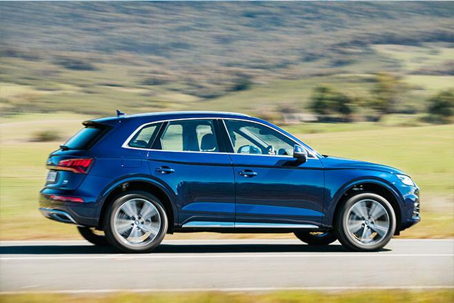 Audi Q5 action profile