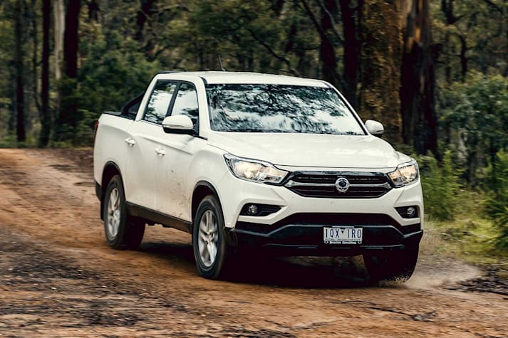 SsangYong Musso EX review