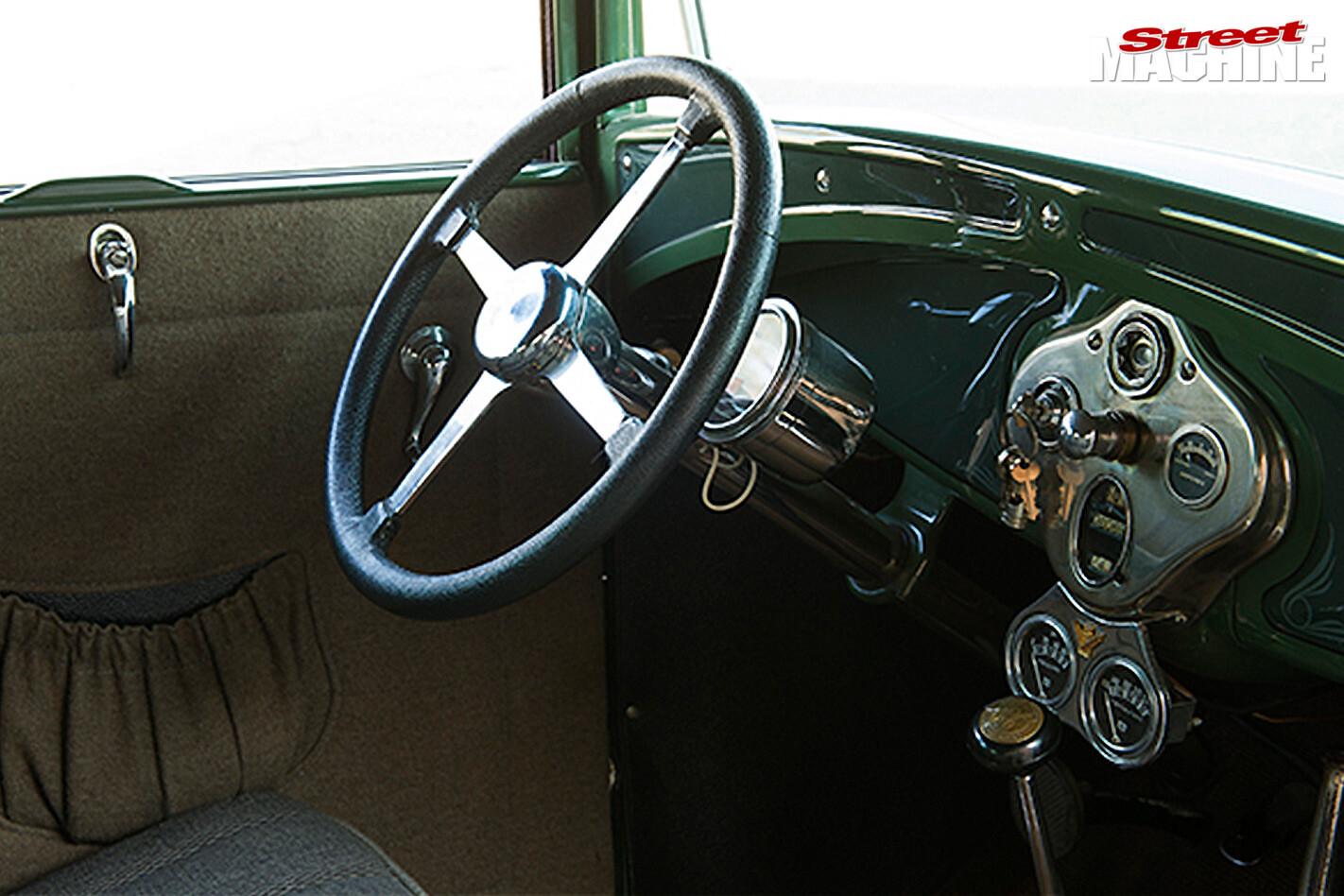 Ford Model A dash