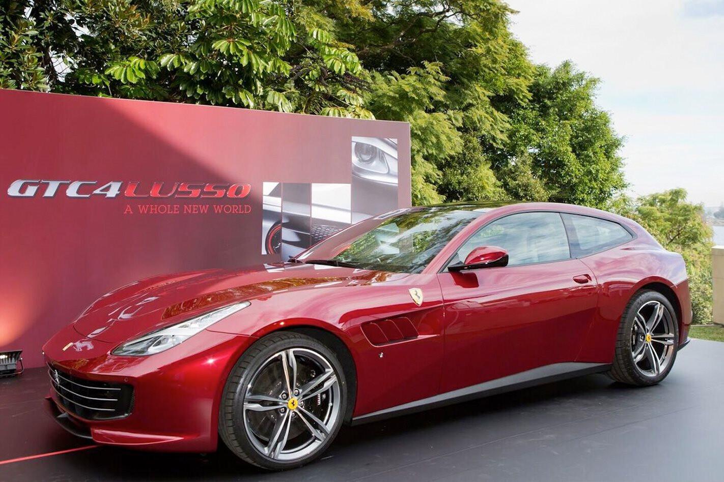 Ferrari GTC4Lusso cuts $45K from FF