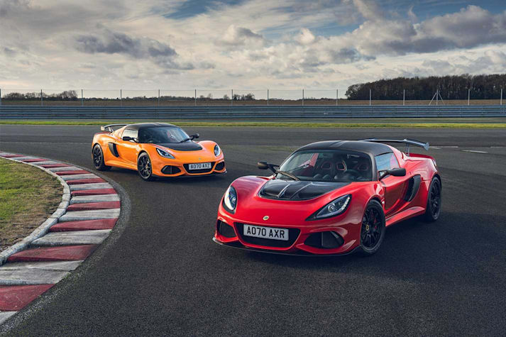 Lotus Elise and Exige Final Edition ranges arrive