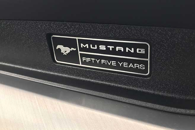 55 years of the Ford Mustang