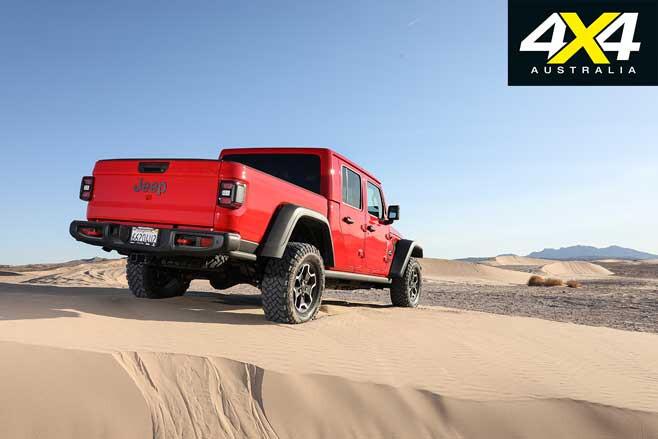 Jeep Gladiator Rubicon Rear Jpg