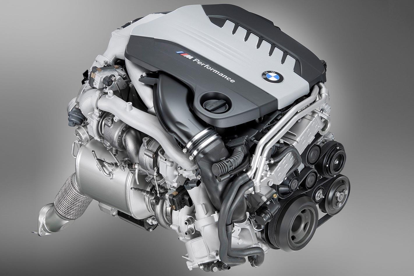 BMW turbo engine