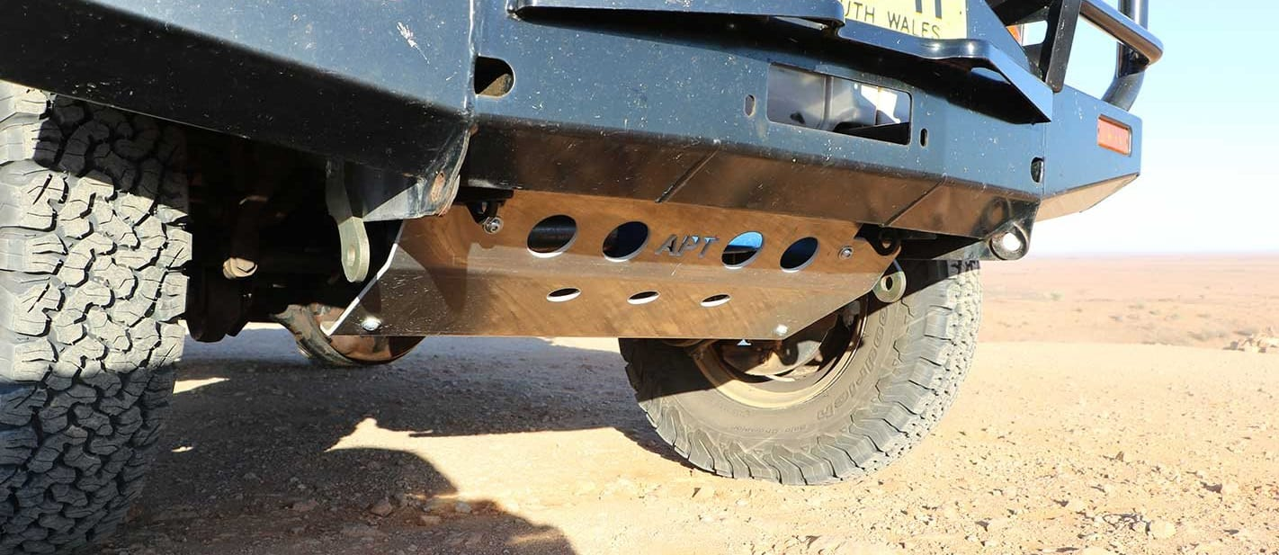 APT Offroad Steering Guard product test