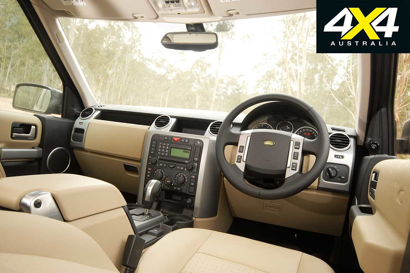 2009 Land Rover Discovery 3 Interior Jpg